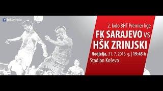 Sarajevo vs Zrinjski Mostar full match