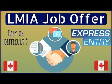 🇨🇦 How To Get A LMIA Job Offer