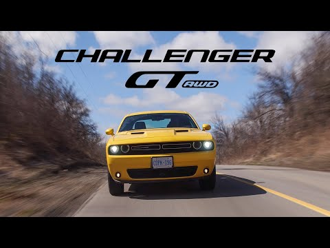 2018 Dodge Challenger GT AWD Review - The Muscle Car That Can't Do Burnouts