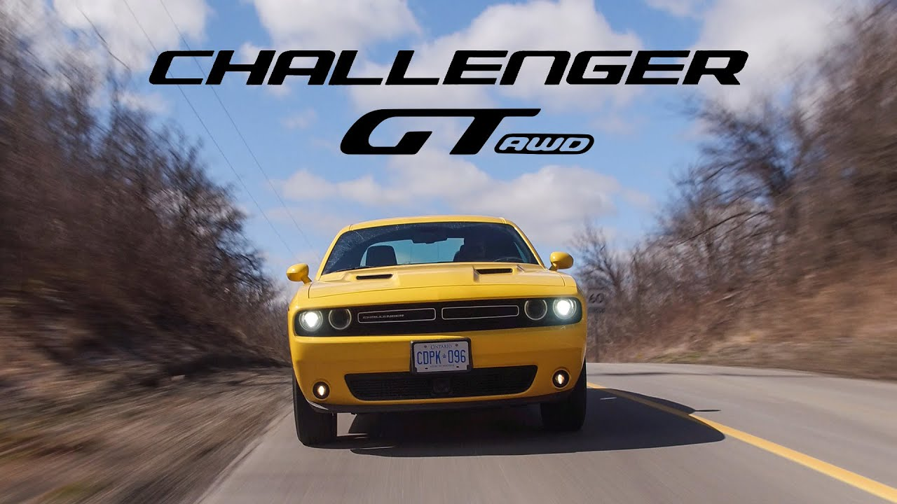 2018 Dodge Challenger Gt Awd Review The Muscle Car That Can T Do