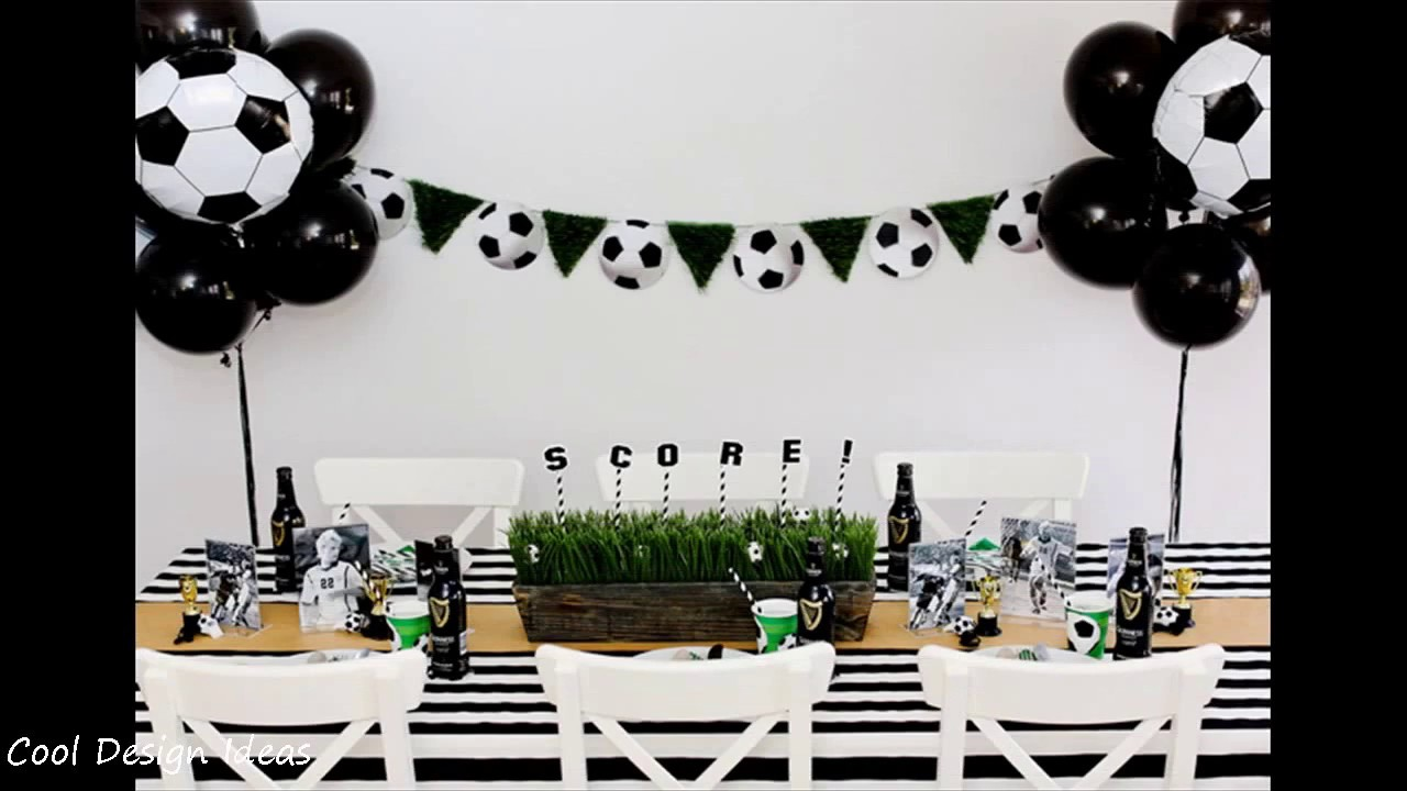 DIY Soccer Party Decorating Ideas