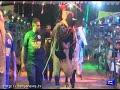 Unique fashion show, Models catwalk with sacrificial animals in Lahore