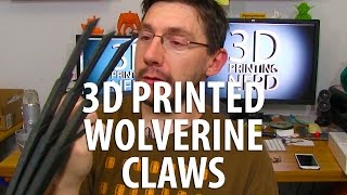 3d printing wolverine claws from le fab shop on my gmax 1 5xt