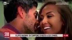 """Filippo Magnini: """"Con Giorgia Palmas ho trovato l'amore"""" - Storie italiane 03/10/2019"""