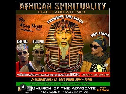 Prof. James Smalls: African Spirituality, Health & Wellness | 2019
