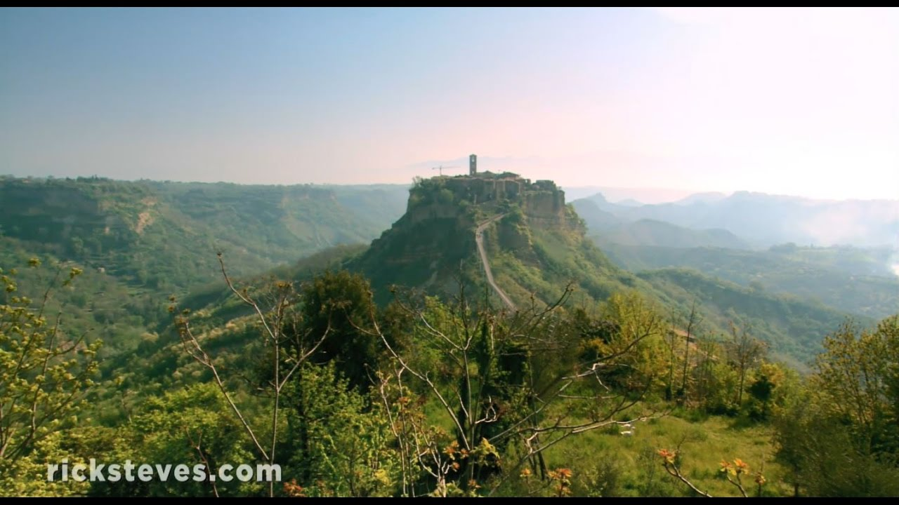 Civita di Bagnoregio, Italy: Jewel on the Hill - YouTube