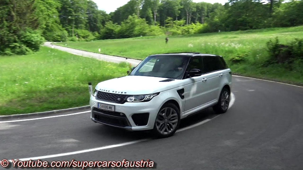 Range Rover Sport Svr Sound Accelerations Revs