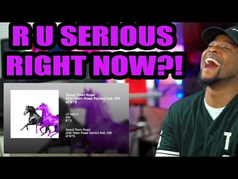 RM of BTS x Lil Nas X - Seoul Town Road (Old Town Road Remix) | REACTION!!!
