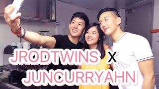 VLOG : Q&A - THE BETTER HUSBAND?! JRodTwins x JunCurryAhn || AloftKLS