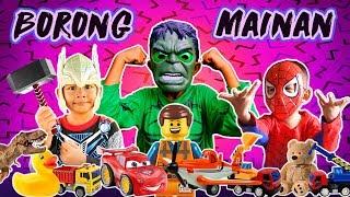 Aksi Superhero Borong Mainan Murah Di Toko Mainan | Bersama Hulk Thor Spiderman Kapten Amerika