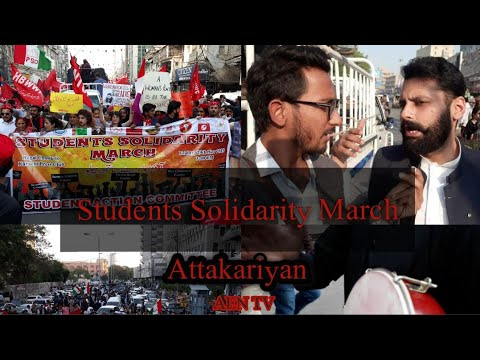 Students Solidarity March | EP 11| Attakariyan | AEN TV