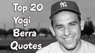 Top Yogi Berra Quotes