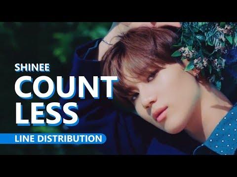 SHINee 샤이니 - COUNTLESS 셀 수 없는   Line Distribution