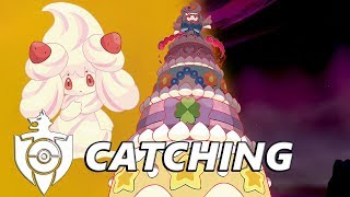 Gigantamax Alcremie Den Located in Pokemon Sword and Shield