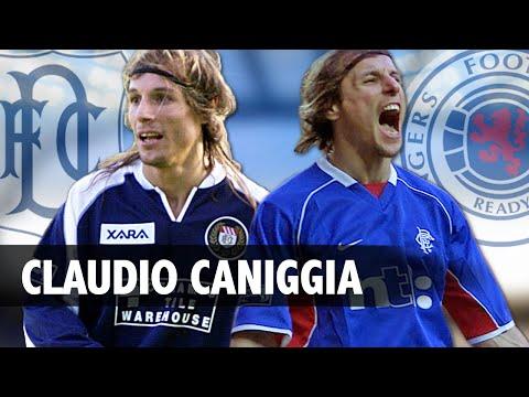 Scottish football legends - claudio caniggia