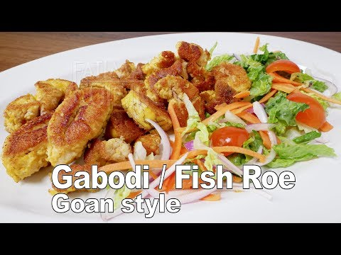 Fish Roe Recipe | Gaboli Recipe | Fish Eggs Recipe | Gabodi Goan Recipe |