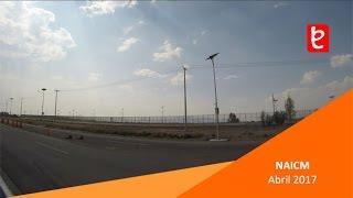 Vista al predio del Nuevo Aeropuerto Internacional de la CDMX (NAICM) Abril 2017   www.edemx.com