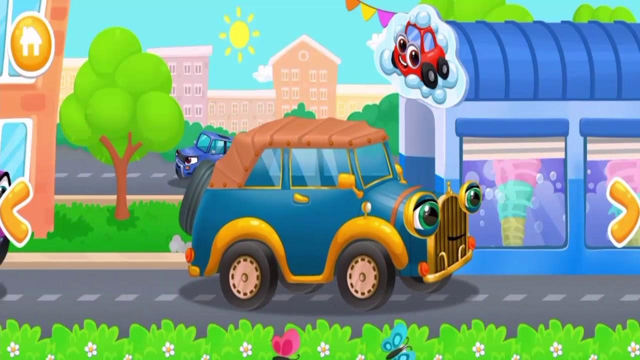 Araba Yikama Ve Araba Boyama Cocuk Oyunu 2 Youtube
