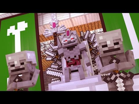 Minecraft | Supernatural Mobs Song Mod Showcase! (Skeleton King vs Herobrine)
