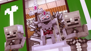 Repeat youtube video Minecraft | Supernatural Mobs Song Mod Showcase! (Skeleton King vs Herobrine)