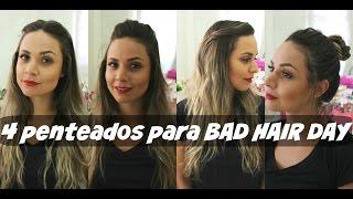 Bad Hair Day: 4 penteados sem o uso da chapinha (para todos os tipos de cabelo)