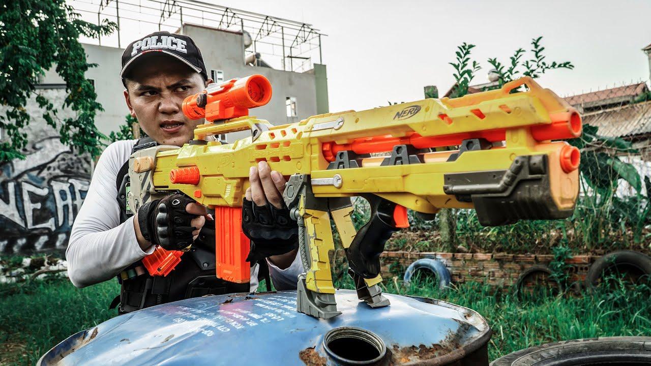 LTT Game Nerf War : Warriors SEAL X Nerf Guns Fight Criminal Group Mr Zero Crazy Unequal Battle 2