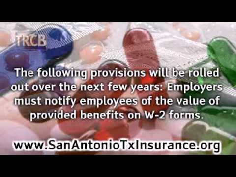 San Antonio Health Insurance - Patient Protection Affordable Care Act