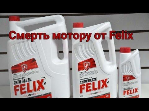 Антифриз Felix Смерть Вашему мотору! Подделка или нет?
