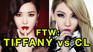 For The Win: Tiffany VS. CL