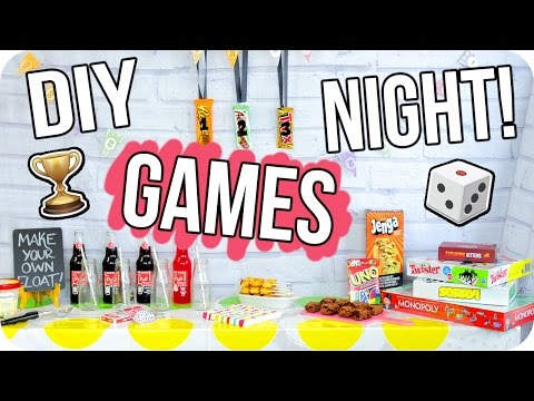 DIY Game Night Party! Cheap & Fun for Everyone!
