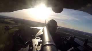Spad XIII chasing a Fokker DVII