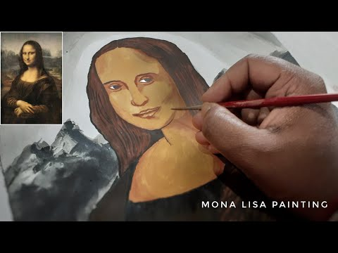 mona-lisa-painting-/-smile-☺️-face-/-classic-painting-details-/-full-tutorial-*subham-gallery*