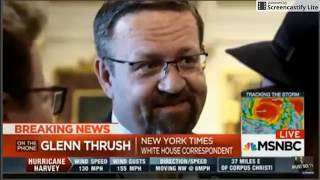 GORKA RESIGNS - MSNBC interview LATEST - 25 Aug 2017 w NYT