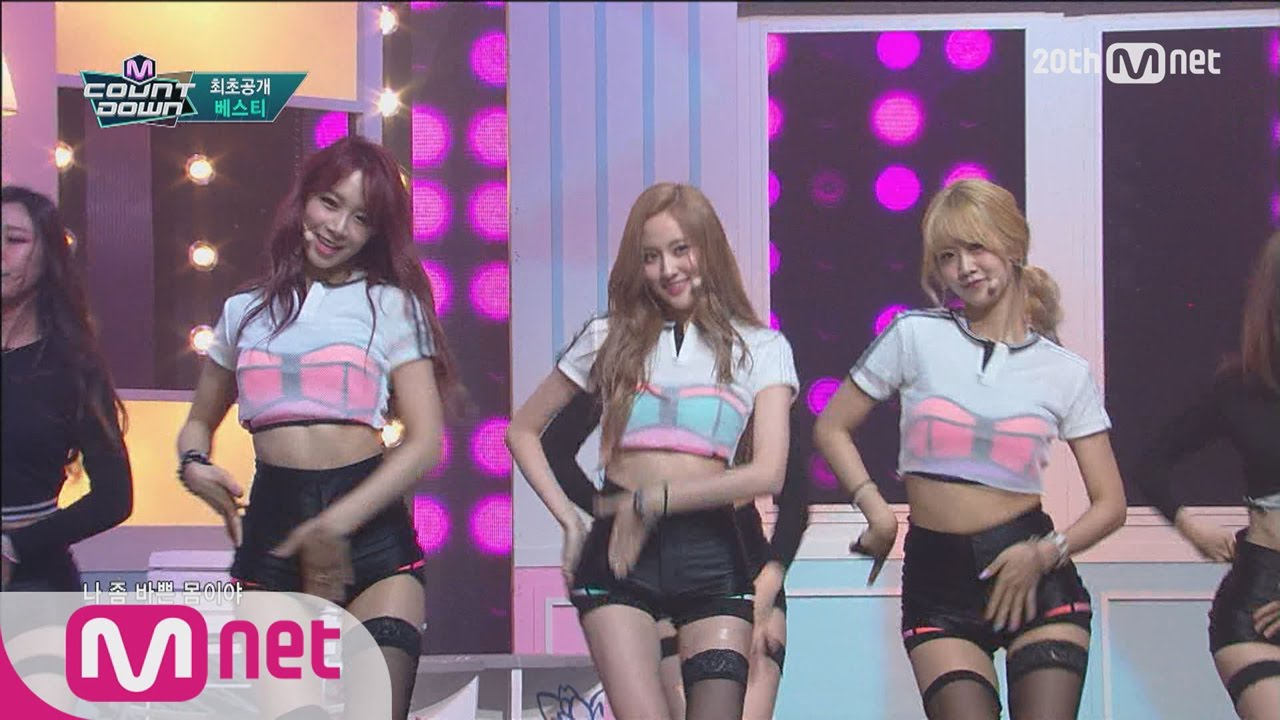 First Release BESTie Trying To Steal Your Heart EXCUSE ME M COUNTDOWN EP423
