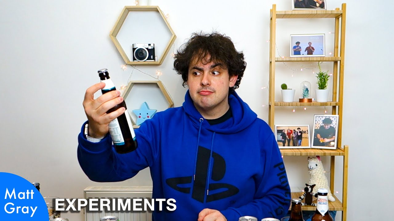 Youtube Thumbnail Image: 🍺🍺Dry January Taste Test: Alcohol-Free Beer! (Part 2)