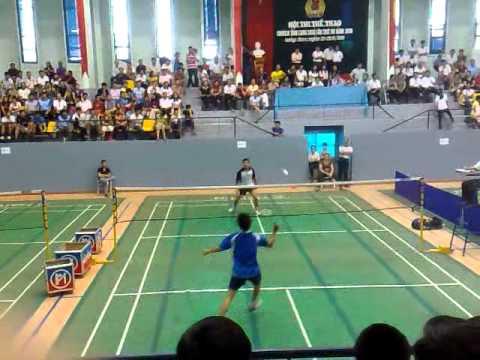 Cầu lông - Chung kết đơn nam - Hội thao LĐLĐ Lạng Sơn