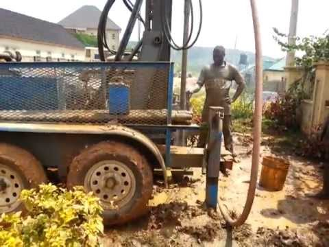 RockBuster R77-MAG, Customer Video, DTH Drilling, Africa