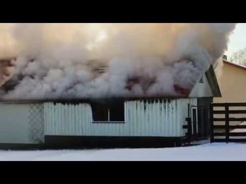Tulekahju Rapla linnas 5. nov 2016