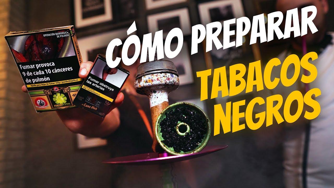 COMO PREPARAR TABACO NEGRO//DARKSIDE/MUSTHAVE/TANGIERS