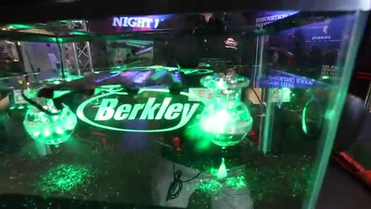 icast 2014 - berkley night fishing lights - youtube, Reel Combo