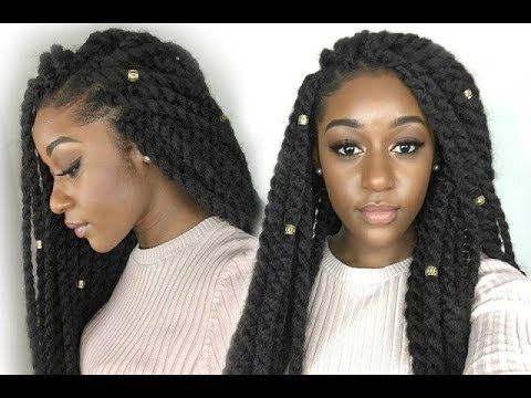 How To Crochet Braids Protective Styles Diy Samba Marley Twist