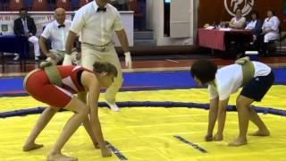 Всероссийский турнир по сумо среди женщин