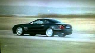 Mercedes SL55 AMG BRABUS TOP GEAR