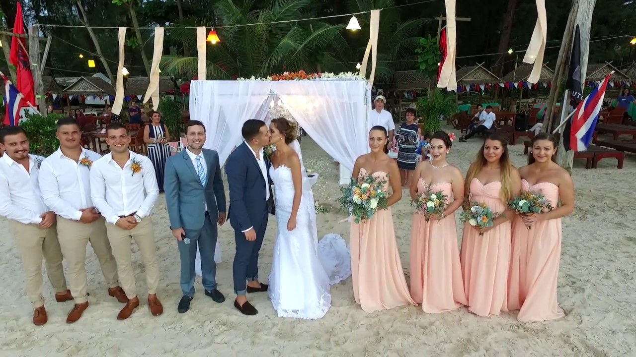 Roni & Flaka Wedding Ceremony and Reception Phuket, Thailand