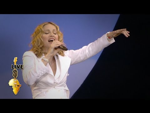 Madonna - Like A Prayer (Live 8 2005)