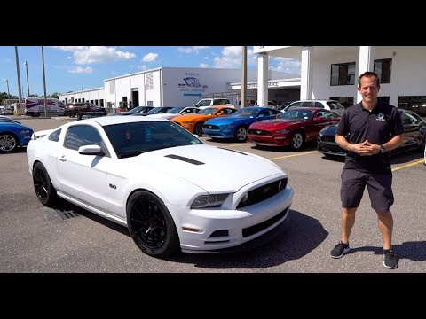 Does this 2014 Ford Mustang GT have the BEST Muscle Car sound?