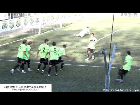 Cipolletti 1 - Rivadavia 3