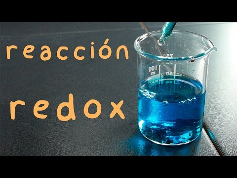 A REDOX Reaction. Zn + CuSo4. Experiment.