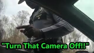 Pissed Off State Trooper  - (MIRRORED)