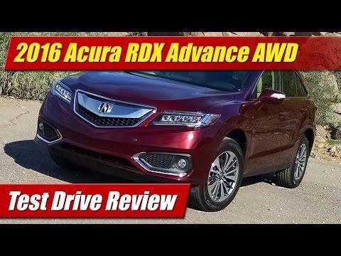 2016 Acura RDX Advance AWD